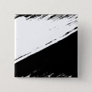 Badge Carré 5 Cm bouton de drapeau d'Anarcho-pacifisme