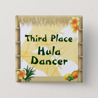 Badge Carré 5 Cm Bouton de récompense de danseur de danse