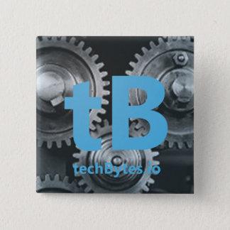 Badge Carré 5 Cm bouton de techBytes.io