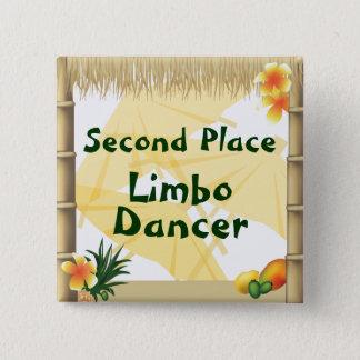 Badge Carré 5 Cm Bouton fictif de récompense de danseur d'endroit