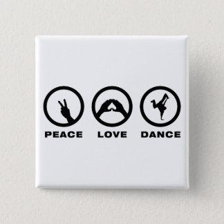 Badge Carré 5 Cm Breakdancing