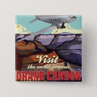 Badge Carré 5 Cm Canyon grand