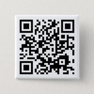 Badge Carré 5 Cm code personnalisable de QR