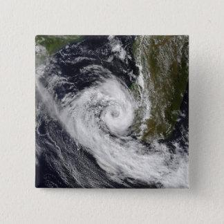 Badge Carré 5 Cm Cyclone tropical Izilda