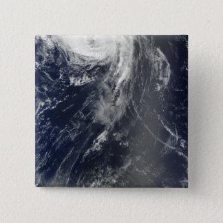 Badge Carré 5 Cm Deux tempêtes puissantes enjambent l'Océan