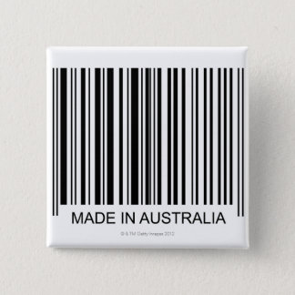 Badge Carré 5 Cm Fabriqué en Australie