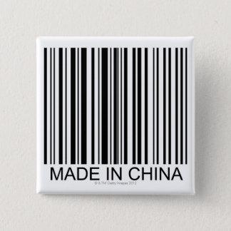 Badge Carré 5 Cm Fabriqué en Chine