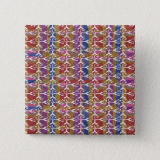 Badge Carré 5 Cm Fleur unique et cadeaux élégants de motif de bijou