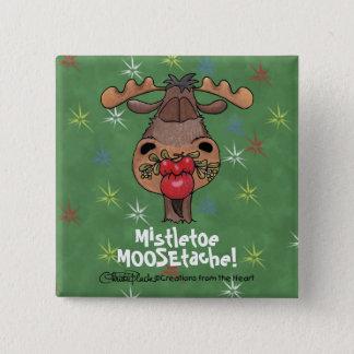 Badge Carré 5 Cm Gui MOOSEtache