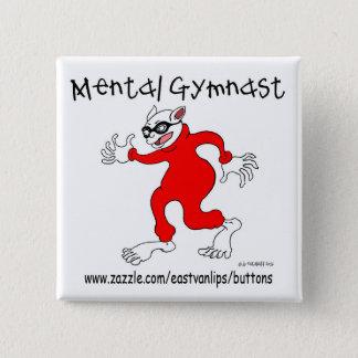 Badge Carré 5 Cm Gymnaste mental