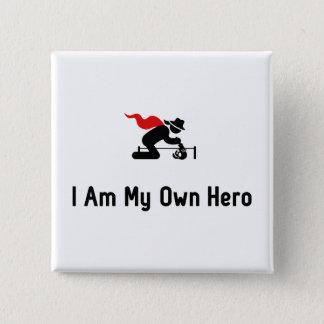 Badge Carré 5 Cm Héros d'archéologie