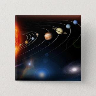 Badge Carré 5 Cm Image produite par Digital de notre système