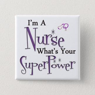 Badge Carré 5 Cm Je suis une infirmière