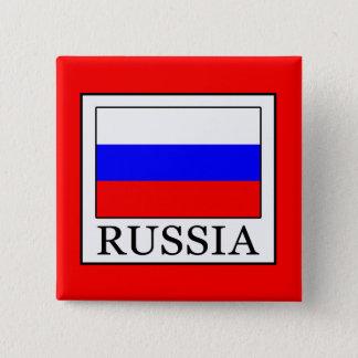 Badge Carré 5 Cm La Russie