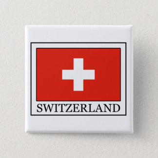 Badge Carré 5 Cm La Suisse