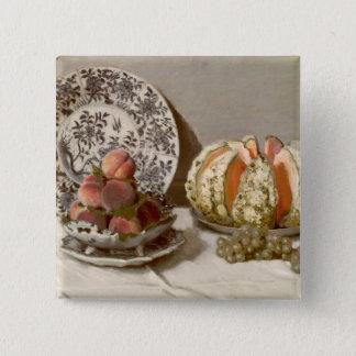 Badge Carré 5 Cm La vie de Claude Monet   toujours, 1872