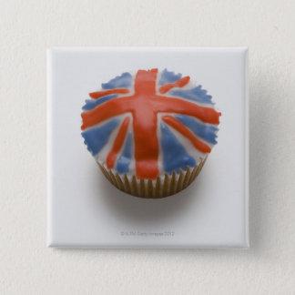 Badge Carré 5 Cm L'Angleterre, Grande-Bretagne, l'anglais, cric des