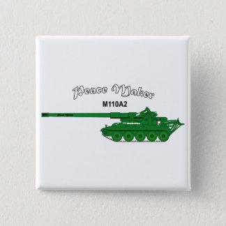 Badge Carré 5 Cm L'armée américaine M110A2 - fabricant de paix