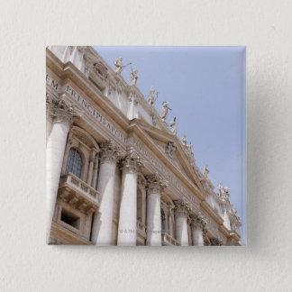 Badge Carré 5 Cm Le carré de St Peter, Ville du Vatican, Rome,