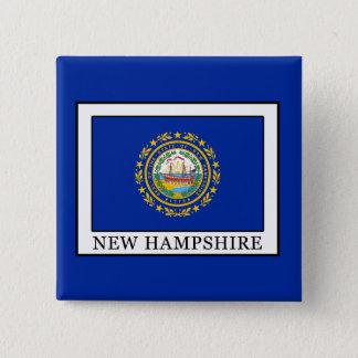 Badge Carré 5 Cm Le New Hampshire