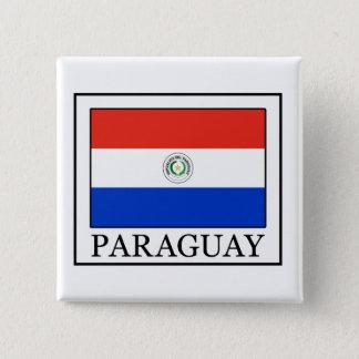 Badge Carré 5 Cm Le Paraguay
