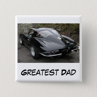 Badge Carré 5 Cm Le plus grand papa de fête des pères