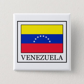 Badge Carré 5 Cm Le Venezuela