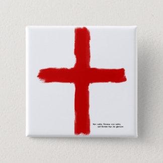 Badge Carré 5 Cm Les croisades - chevaliers de temple