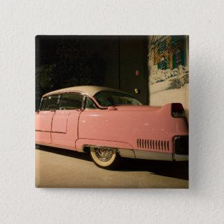 Badge Carré 5 Cm Les Etats-Unis, Tennessee, Memphis, Elvis Presley