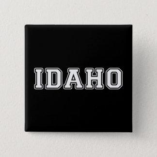 Badge Carré 5 Cm L'Idaho