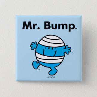 Badge Carré 5 Cm M. Bump de M. Men   est un Clutz