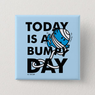 Badge Carré 5 Cm M. Bump   est aujourd'hui un jour inégal