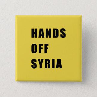 Badge Carré 5 Cm Mains outre de la Syrie