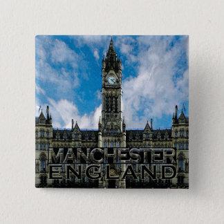Badge Carré 5 Cm Manchester