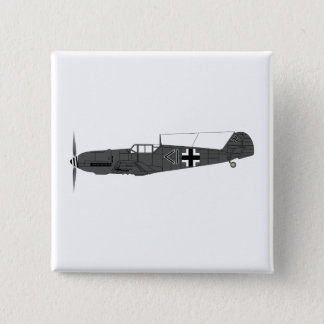 Badge Carré 5 Cm Messerschmitt BF-109