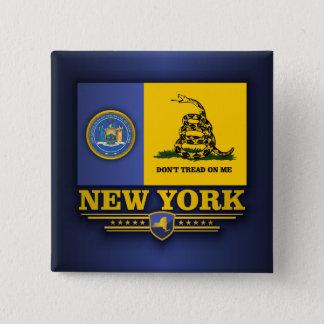 Badge Carré 5 Cm New York (DTOM)