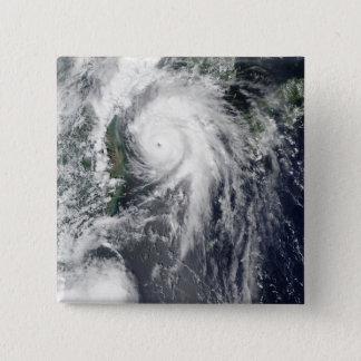 Badge Carré 5 Cm Ouragan Kompasu