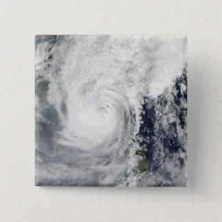 Badge Carré 5 Cm Ouragan Megi 3