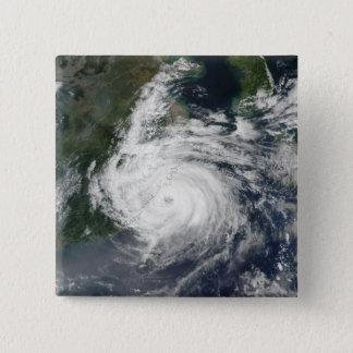 Badge Carré 5 Cm Ouragan Sinlaku