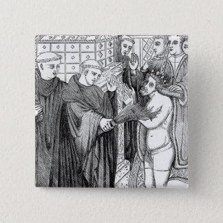 Badge Carré 5 Cm Pénitence de Henry II