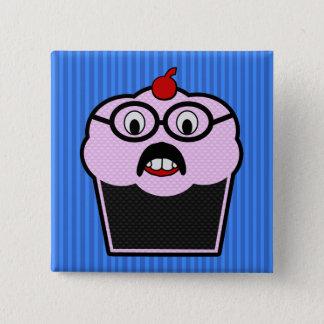Badge Carré 5 Cm Petit gâteau Studmuffin