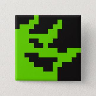 Badge Carré 5 Cm Pin de problème (mascotte 2-Bit)