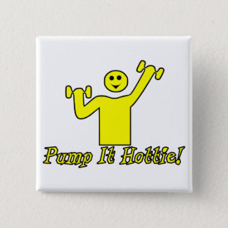 Badge Carré 5 Cm Pompez-le Hottie