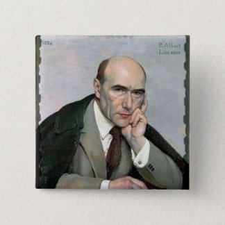Badge Carré 5 Cm Portrait d'André Gide 1924