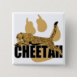 Badge Carré 5 Cm Puissance de guépard