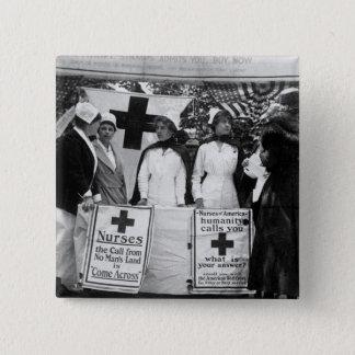 Badge Carré 5 Cm Recrutement d'infirmières
