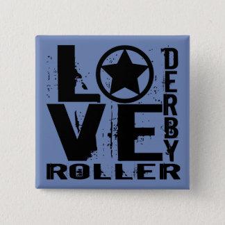Badge Carré 5 Cm Rouleau Derby d'AMOUR