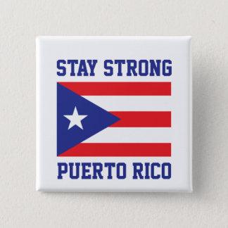 Badge Carré 5 Cm Séjour Porto Rico fort