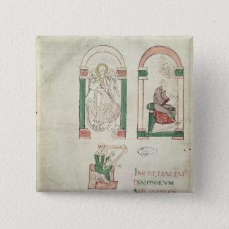 Badge Carré 5 Cm St Michael, St Augustine et St David