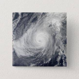 Badge Carré 5 Cm Sud-sud-ouest de Nida d'ouragan d'Iwo Jima